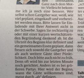 Gerlind Hartwig Knigge Tipps Silvester