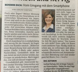 Smartphone Knigge - Image Coaching Hartwig